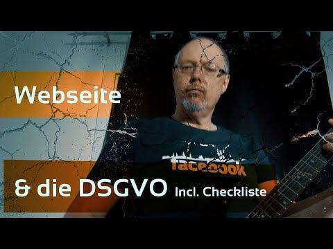 Wie Du eine Website für DSGVO vorbereiten kannst - Inkl. Checkliste