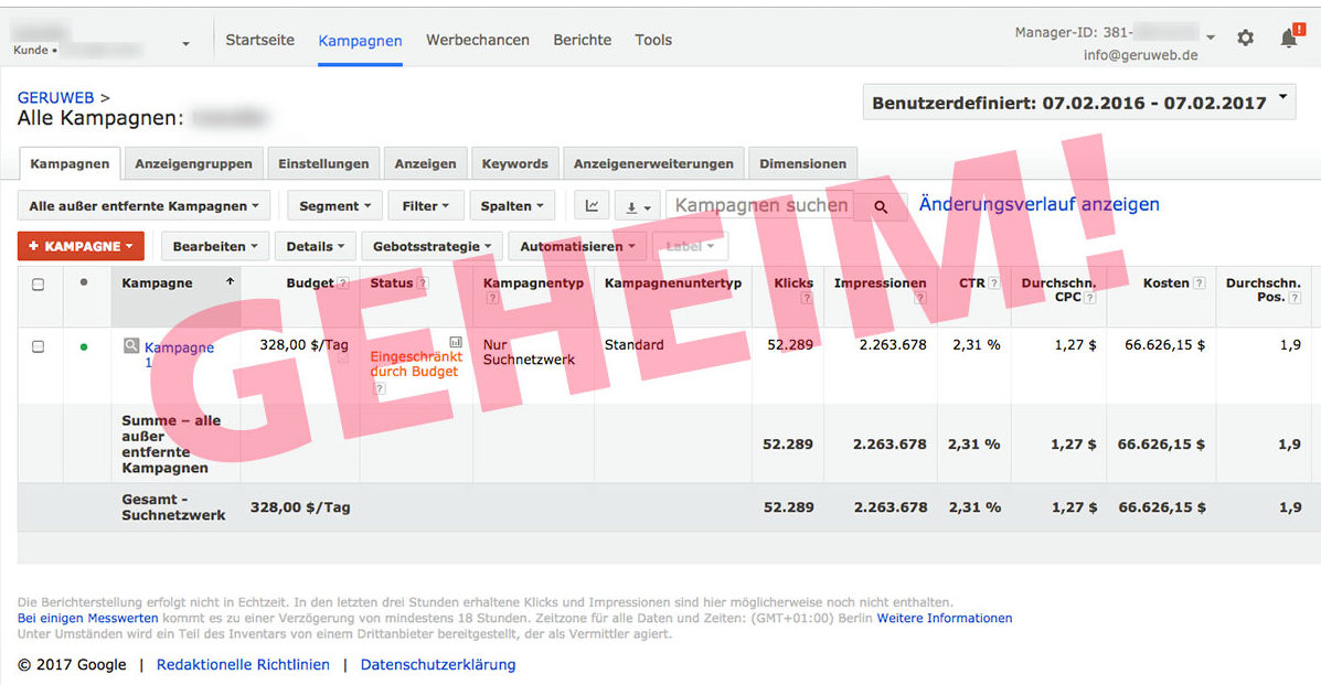 Google Adwords Agentur Oldenburg Bremen