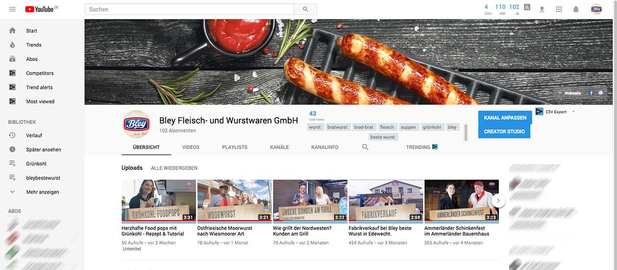 was kostet Youtube Kanal, Unternehmen, Referenzen, Social Media,