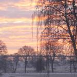 Oldenburg, im Winter,