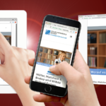 Webdesign für mobile Geräte, Webdesign, mobil, Oldenburg, responsive