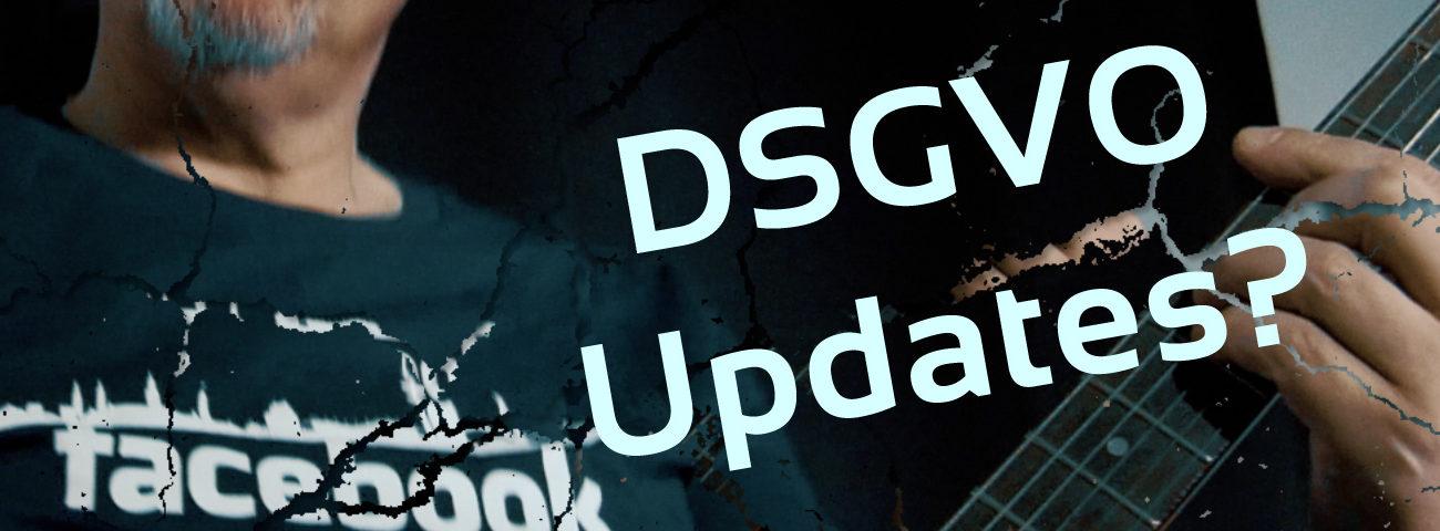 DSGVO, Updates,