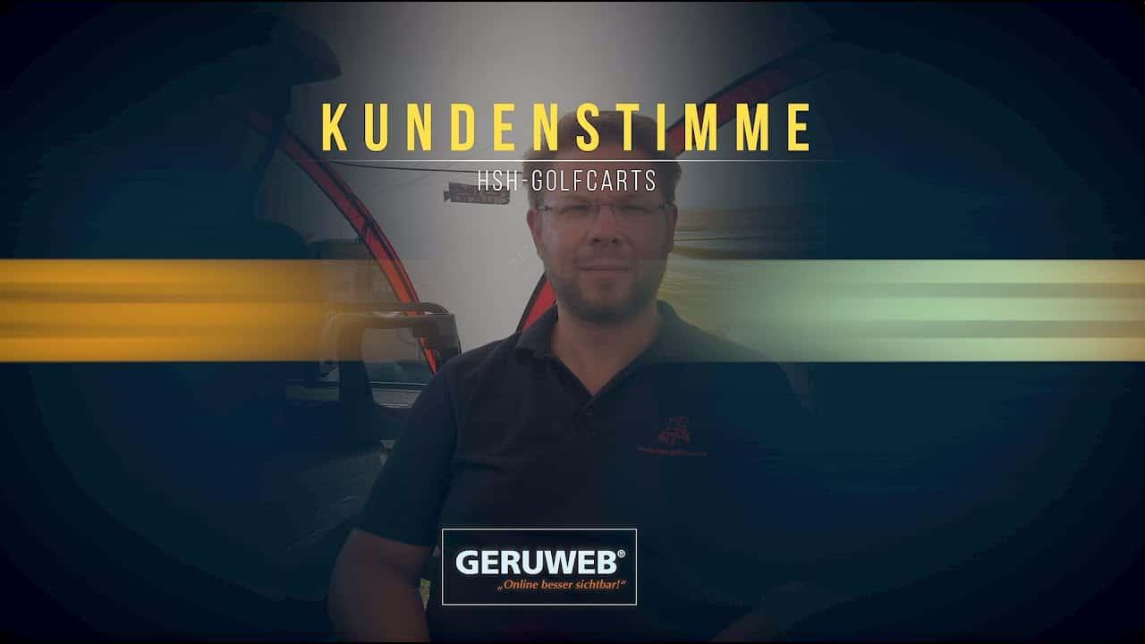 Testimonial / Referenz - Webdesign • Imagefilm • SEO • Oldenburg