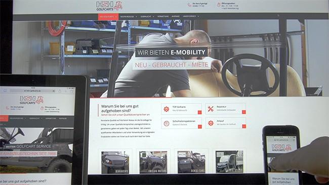 Online Marketing, Webdesign