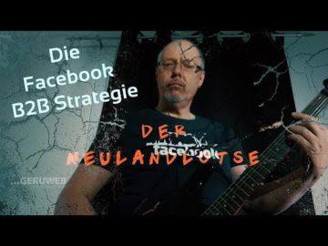 Facebook B2B Strategie ohne Ad's starten! Wie geht Facebook für den Business Alltag