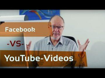 Facebook vs YouTube fu?r Unternehmen