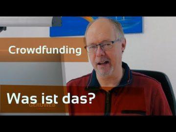 Was ist Crowdfunding aus Sicht der Nutzer, Anwender oder Käufer