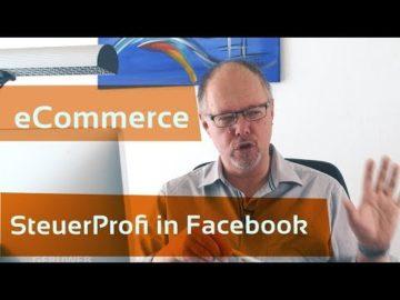 eCommerce SteuerProfi startet erfolgreich in Facebook